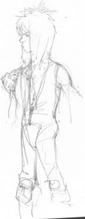 Boceto Percy 3