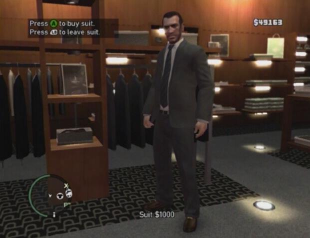 Tiendas de ropa de Grand Theft Auto IV