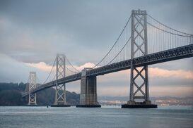 Oakland Bay Bridge Western Part