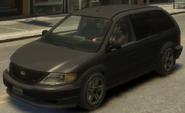 Minivan GTA IV
