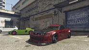 Dominator ASP modificado GTA Online