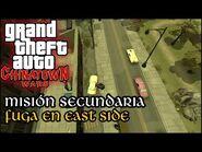 Fuga en East Side - GTA Chinatown Wars PSP (Español-Sin Comentario) Guía 100%