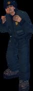 GTAIII policeman in fighting stance