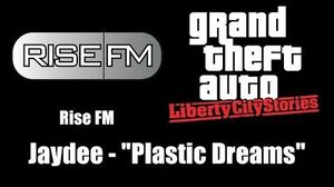 "GTA Liberty City Stories - Rise FM Jaydee - ""Plastic Dreams"""