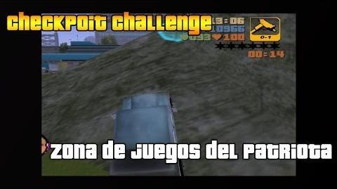 """GTA_3_Checkpoint_chllenge_""""Lugar_de_juegos_del_patriota"""""""
