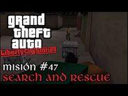 Search and Rescue - GTA Liberty City Stories PSP - Misión -47 (Español-Sin Comentario)