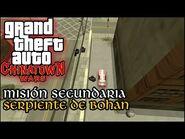 Serpiente de Bohan - GTA Chinatown Wars PSP (Español-Sin Comentario) Guía 100%