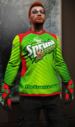 Jersey motocross de carreras Sprunk X-treme