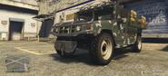 Squaddie modificado GTA V