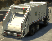 Trashmaster detrás GTA IV