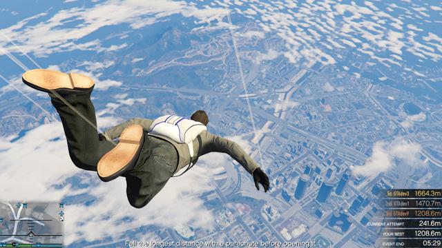 Eventos del modo libre de Grand Theft Auto Online