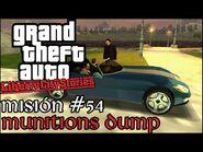 Munitions Dump - GTA Liberty City Stories PSP - Misión -54 (Español-Sin Comentario)