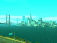 Vista panoramica de San Fierro