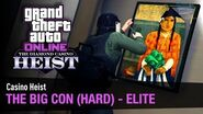 "GTA Online Casino Heist ""The Big Con"" 2-Players (Elite Challenge in Hard Mode)"
