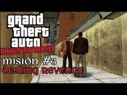 Dealing Revenge - GTA Liberty City Stories PSP - Misión -3 (Español-Sin Comentario)