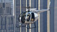 Buzzard cromado de Tony GTA Online