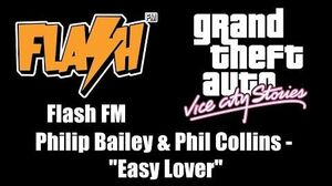 """GTA Vice City Stories - Flash FM Philip Bailey & Phil Collins - """"Easy Lover"""""""