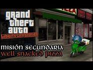 Well Snacked Pizza - GTA Liberty City Stories PSP (Español-Sin Comentario) Guía 100%