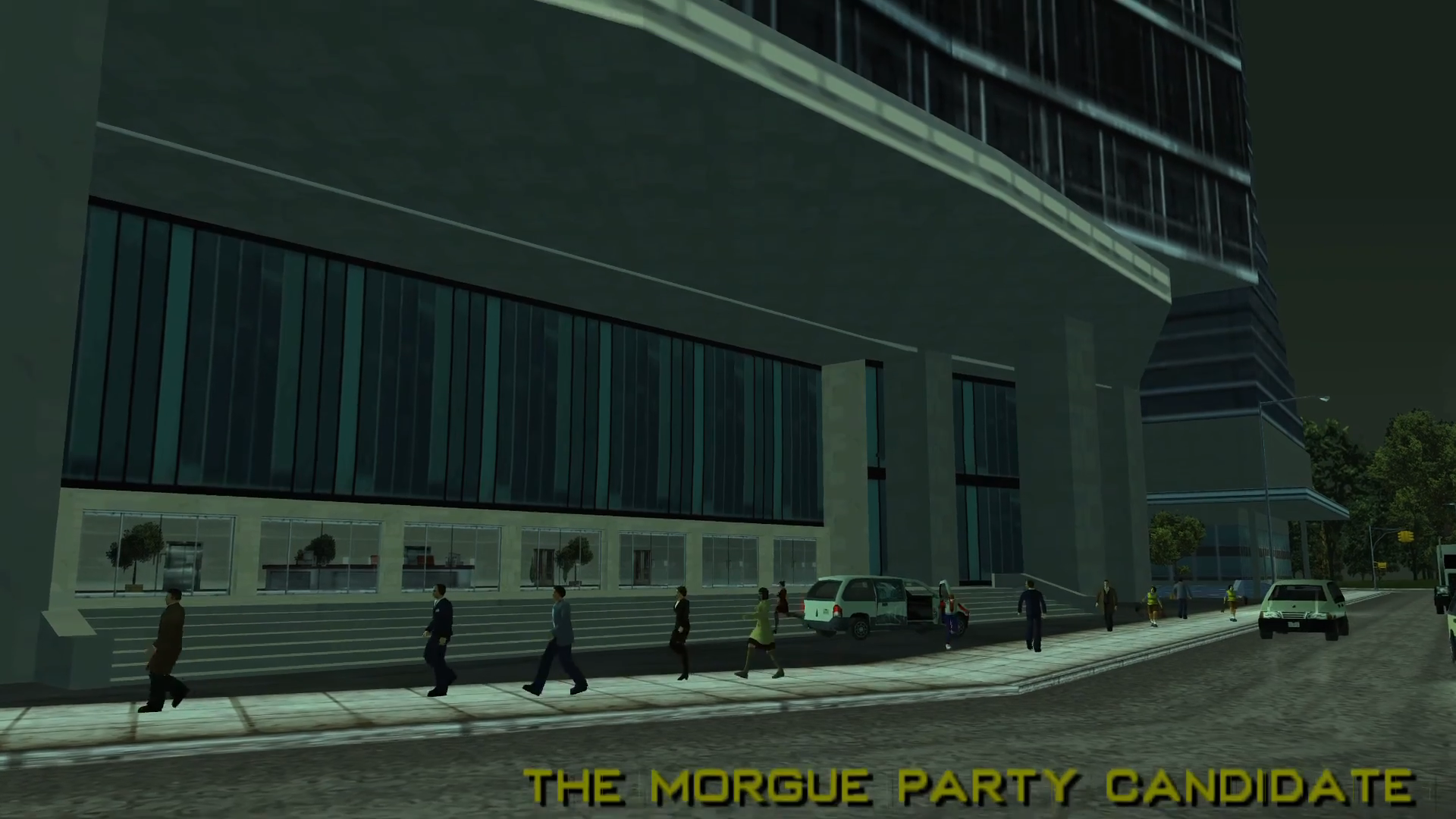The Morgue Party Candidate