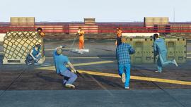 "GTA Online - Modo Adversario ""Cruza la línea""3"