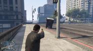 Impacto del vehículo con la Up-N-Atomizadora