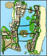 Gta vcs map freeway