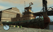 Tug (bote) modificado
