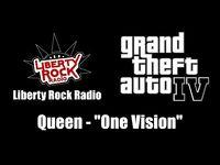 "GTA IV (GTA 4) - Liberty Rock Radio - Queen - ""One Vision"""