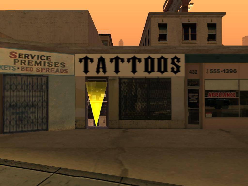 Salón de tatuajes