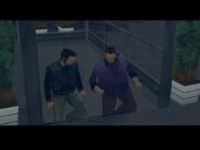 Toni hablando con Claude