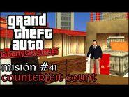 Counterfeit Count - GTA Liberty City Stories PSP - Misión -41 (Español-Sin Comentario)