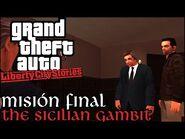 The Sicilian Gambit - GTA Liberty City Stories PSP - Misión Final (Español-Sin Comentario)