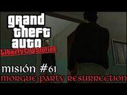 Morgue Party Resurrection - GTA Liberty City Stories PSP - Misión -61 (Español-Sin Comentario)