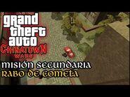 Rabo de Cometa - GTA Chinatown Wars PSP (Español-Sin Comentario) Guía 100%