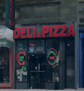 Deli and Pizza