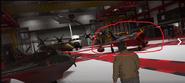 Avión de maniobras desconocido