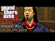 Clear the Pier - GTA Chinatown Wars PSP - Misión -62 (Español-Sin Comentario)