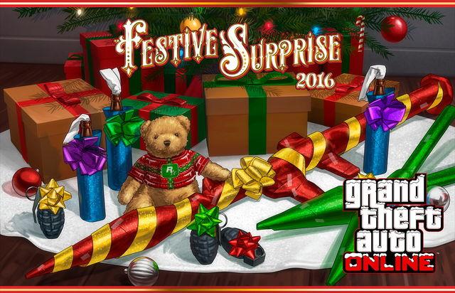 Actualización Sorpresa Festiva (2016)