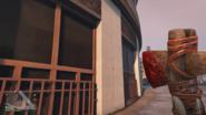 Sangre en la hacha de piedra