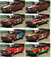 Retinue Pinturas GTA O