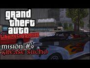 Grease Sucho - GTA Liberty City Stories PSP - Misión -9 (Español-Sin Comentario)