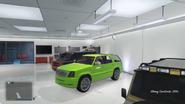 Cavalcade verde Vagos GTA V Lowriders