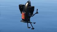 Thruster con despegue asistido por reactores