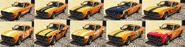 Rapid GT Classic tapicerías