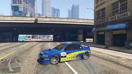 Sultan RS Classic modificado GTA Online