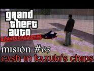 Cash in Kazuki's Chips - GTA Liberty City Stories PSP - Misión -65 (Español-Sin Comentario)