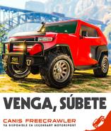Freecrawler poster en español de españa
