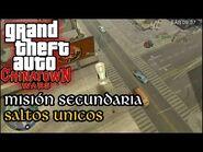 Saltos Únicos-Acrobáticos - GTA Chinatown Wars PSP (Español-Sin Comentario) Guía para el 100%