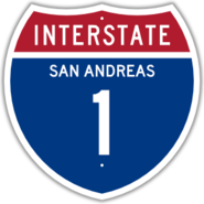 Interstate 1 Shield