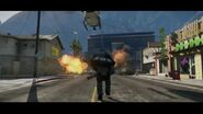 Minigun GTA V trailer 2
